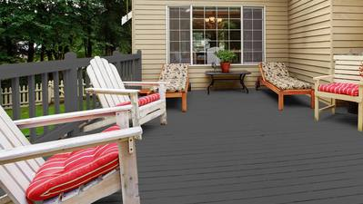 Surprising Deck Colours for First Time Home Owners