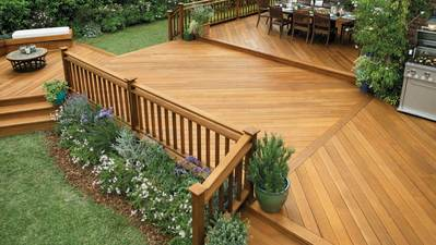 Deck Stain Colours For White Houses
