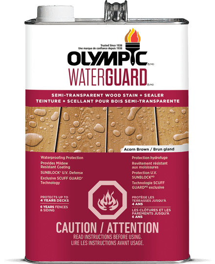 WaterGuard® Semi-Transparent