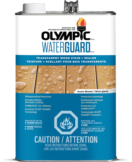 Waterguard® Transparent Stain