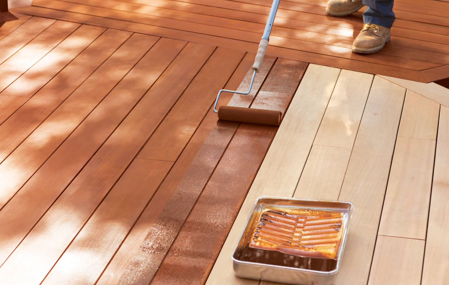 How Long Does It Take To Stain A Deck